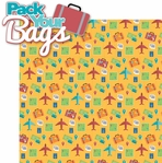 Globe Trotter: Pack Your Bags 2 Piece Laser Die Cut Kit
