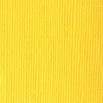 Glow Canvas 12 X 12 Bazzill Cardstock (Yellow)