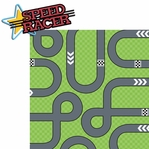 Go Karts: Speed Racer  2 Piece Laser Die Cut Kit
