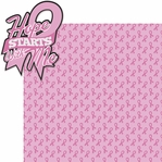Go Pink: Hope Starts With Me 2 Piece Laser Die Cut Kit