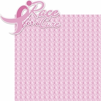 Go Pink: Race For A Cure 2 Piece Laser Die Cut Kit
