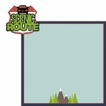 Go See Do: Scenic Route 2 Piece Laser Die Cut Kit