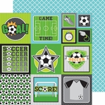 Goal!!: Goal!! 12 x 12 Double-Sided Cardstock