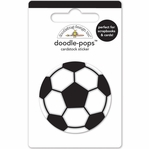 Goal!!: Soccer Ball Doodle-Pops 3D Stickers