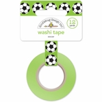 Goal!!: Soccer Ball Washi Tape 15mm x 12yd