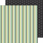 Goal!!: Soccer Stripe 12 x 12 Double-Sided Cardstock