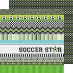 Goal!!: Superstar 12 x 12 Double-Sided Cardstock