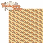 Gobble On: Thanksgiving Dinner 2 Piece Laser Die Cut Kit