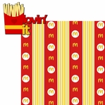 Golden Arches: Lovin' It 2 Piece Laser Die Cut Kit