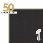 Golden Game: Super Bowl 50 2 Piece Laser Die Cut Kit