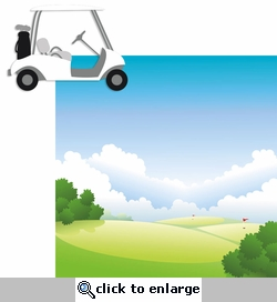 Golf: Cart 2 Piece Laser Die Cut Kit