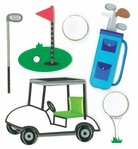 GOLF DIMENSIONAL STICKER �