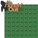 Gone Wild: Hangin' Out 2 Piece Laser Die Cut Kit