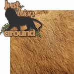 Gone Wild: Just Lion Around 2 Piece Laser Die Cut Kit