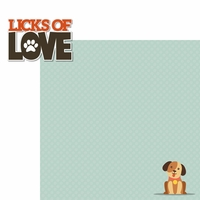 Good Dog: Licks Of Love 2 Piece Laser Die Cut Kit