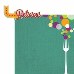 Good Eats: Delicious 2 Piece Laser Die Cut Kit