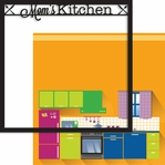 Good Eats: Mom's Kitchen 2 Piece Laser Die Cut Kit