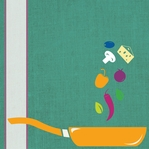 Good Eats: Tossing Up Some Fun 12 x 12 Paper