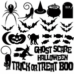 Goosebumps: Halloween Themed Die Cut Elements Pack