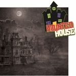 Goosebumps: Haunted House 2 Piece Laser Die Cut Kit