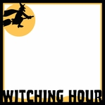 Goosebumps: Witching Hour Overlay Laser Diecut