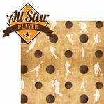 Got Game?: All-Star Basketball 2 Piece Laser Die Cut Kit