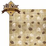 Got Game?: All Star Player 2 Piece Laser Die Cut Kit