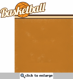 Got Game?: Basketball 2 Piece Laser Die Cut Kit