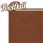 Got Game?: Football 2 Piece Laser Die Cut Kit
