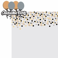 Grad: Grad Party 2 Piece Laser Die Cut Kit