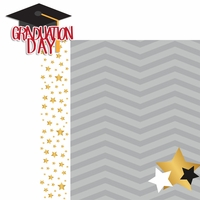 Graduation Day: Graduation Day 2 Piece Laser Die Cut Kit