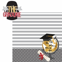 Graduation Day: The Graduate 2 Piece Laser Die Cut Kit