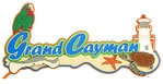 Grand Cayman Laser Die Cut
