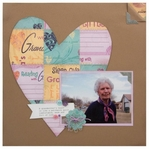 Grandma by Karen Foster layout # 1-<font color=red><b>NOT FOR SALE</b></font>