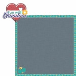 Grandma Grandpa: Fun with Grandma 2 Piece Laser Die Cut Kit