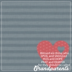 Grandma Grandpa: Grandparents 12 x 12 Paper