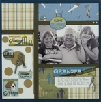 Grandpa by Karen Foster layout # 1-<font color=red><b>NOT FOR SALE</b></font>