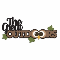 Great Outdoors Laser Die Cut