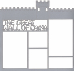 Great Wall Of China 12 x 12 Overlay Laser Die Cut