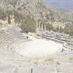 Greece: Delphi Theatre 12 x 12 Paper