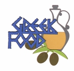 Greece: Greek Food Laser Die Cut
