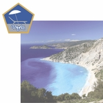 Greece: Myrtos 2 Piece Laser Die Cut Kit