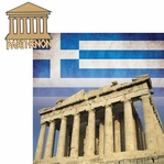 Greece: Parthenon 2 Piece Laser Die Cut Kit