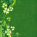 Green Day: Luck O' The Irish 12 x 12 Double-Sided Glitter Paper