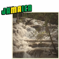 Greetings From: Jamaica 2 Piece Laser Die Cut Kit