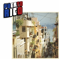 Greetings From: Puerto Rico 2 Piece Laser Die Cut Kit