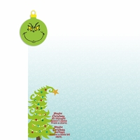 Grinch: Maybe Christmas 2 Piece Laser Die Cut Kit