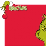 Grinchmas: Merry Grinchmas 2 Piece Laser Die Cut Kit