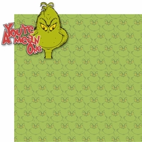 Grinchmas: You're A Mean One 2 Piece Laser Die Cut Kit