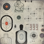 Guns: At the Shooting Range 12 x 12 Paper